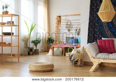 Ethnic Apartment Interipr Design