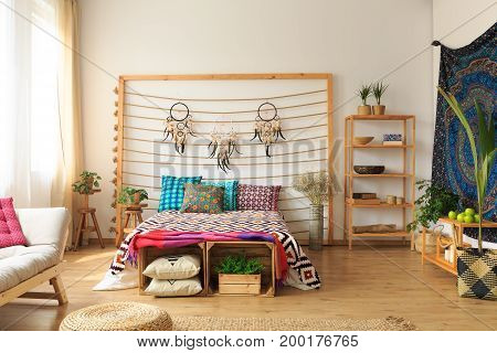 Ethnic Ethereal Flat Interior