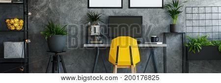 Designer Chair In Office Room