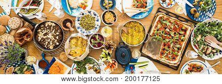 Variety Of Vegetarian Food