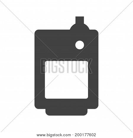 Boiler, fuel, solid icon vector image. Can also be used for Climatic Equipment. Suitable for use on web apps, mobile apps and print media.