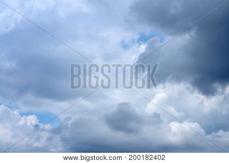 Picture of Dramatic sky with stormy clouds