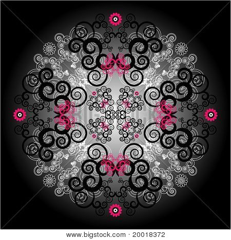 Flower Pattern Decorative
