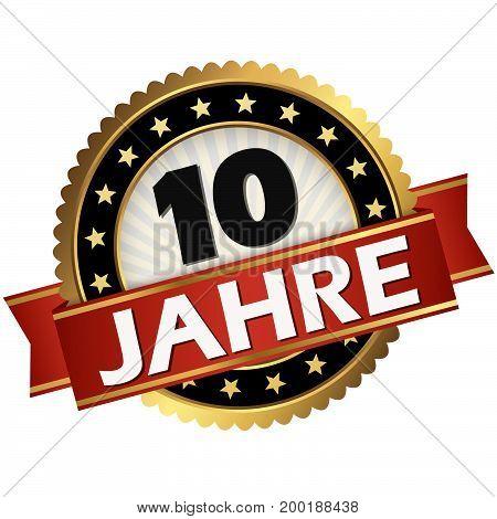 Jubilee Button 10 Years