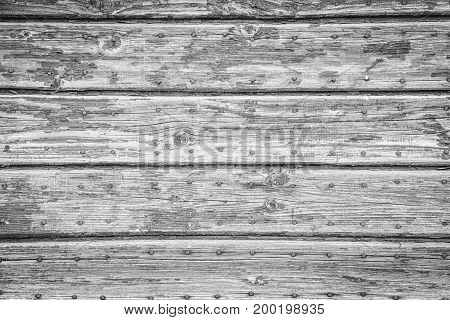 White Rustic Wood Texture With Natural Patterns Surface As Background