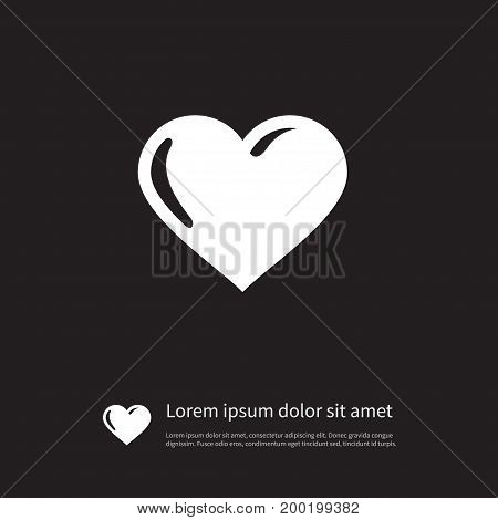 Hearts Vector Element Can Be Used For Soul, Hearts, Love Design Concept.  Isolated Soul Icon.