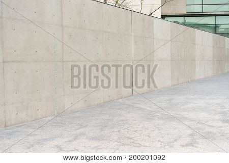 Nobody Photo Of Outdoor Empty Gray Concrete Wall