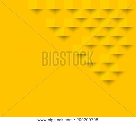 Yellow square geometric texture background Abstract square geometric texture.banner background web design for infographics business finance.