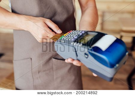 Waiter With Payment Terminal