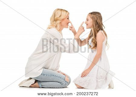 Mother And Preteen Daughter