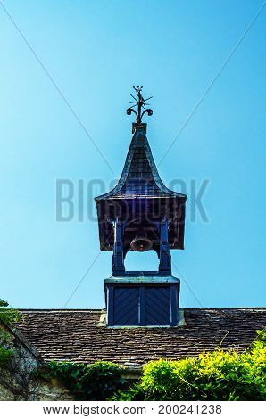 Roofs Of Buildings Covered With Sar Roof Tile, Beautiful English Architecture, Old Roofs
