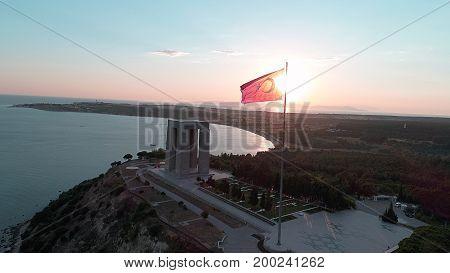 Canakkale Gallipoli Peninsula Martyrs Memorial 22.06.2017 Çanakkale Turkiye