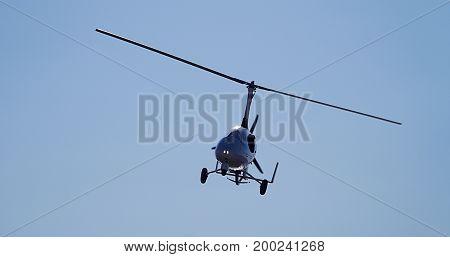 Flying Gyrocopter Photo Turkey Canakkale Lapseki Umurbey 17.08.2017