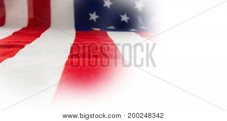 Full frame of American flag