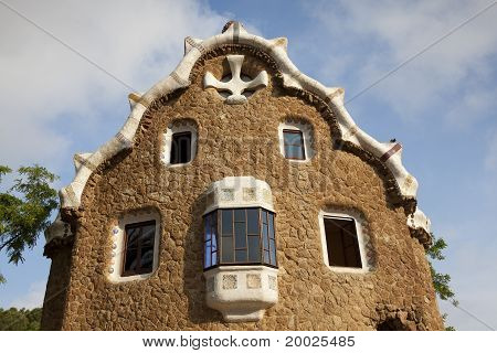 House In Guell Park
