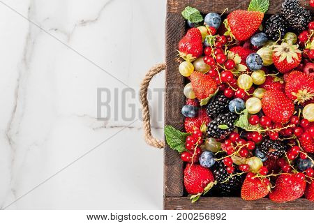 Selection Of Summer Berries