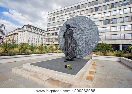 13th August 2017, London, England Mary Seacole Statue.