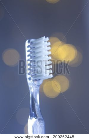 Dental Toothbrush Closeup