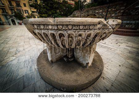 Hagios Demetrios Or Hagios Dimitrios, Baptistery