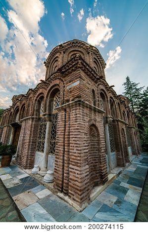 Saint Catherine Or Ekaterina Of Ekaterini, At Thessaloniki Ano Poli, Greece
