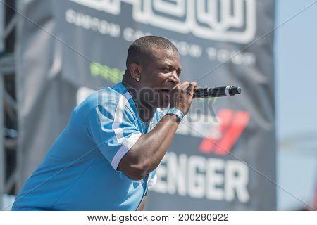 O.t. Genasis, American Rapper Artist During Dub Show Tour