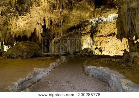 King's Palace in Carlsbad Caverns, New Mexico