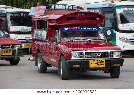 Red Taxi Chiang Mai, For Passenger From Bus Station