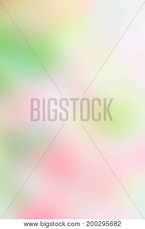 Texture blur green pink yellow and white mix color pastel nature background abstract green pink mix color blur
