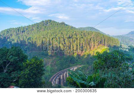The Stone Bridge In Ella Region
