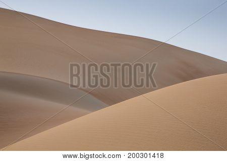 sand dunes of Liwa part of Rub al Khali desert