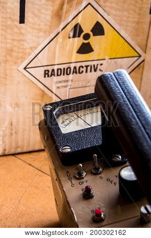 Radiation measurement with radiation portable survey meter