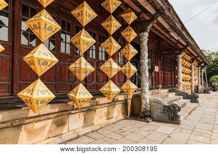 King's town of Hue. Vietnam. A UNESCO World Heritage Site. Hue Vietnam