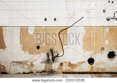 Renovation Of An Bathroom