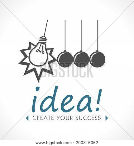 Logo - Idea concept - creative thinking