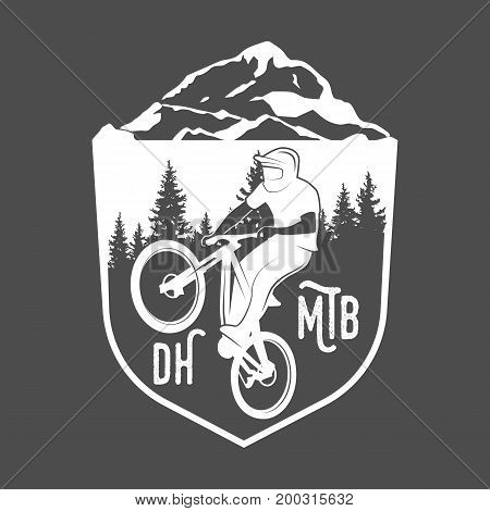 vintage and modern bicycle shop logo badges and labels