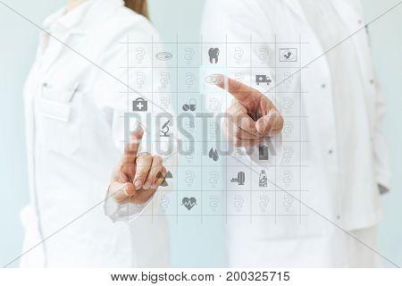 Concept Blood Test