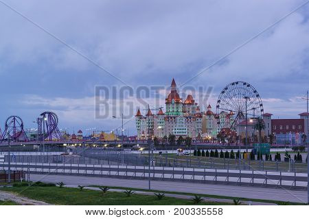 Amusement Park And Attractions Of Sochi Park, Hotel