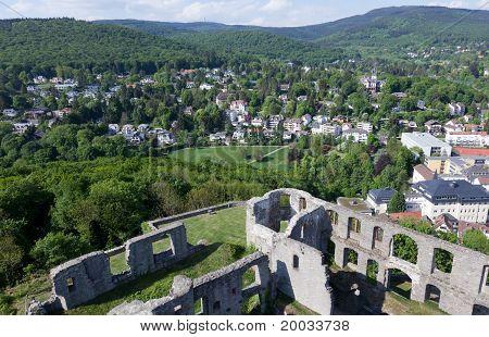 Koenigstein Castle And Taunus