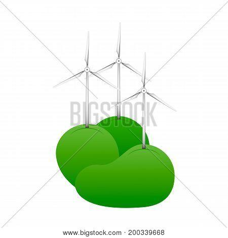 Wind Turbine Logo