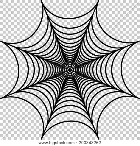 Vector illustration of cobweb, spider web illustration