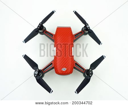 Dji Spark Drone Start Sell In Thailand, Spark Is A Mini Drone From Dji.