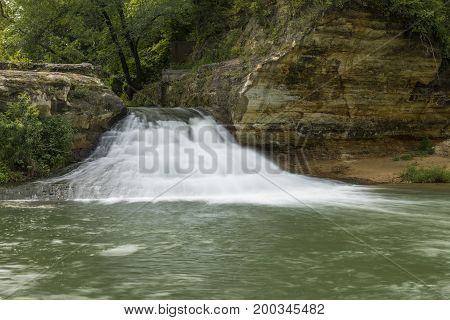 Como Falls - A small waterfall on a creek.