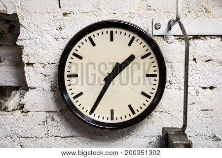 Old Wall Clock - Vintage Clock On Wall