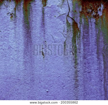 abstract of Iron background with cracked paint