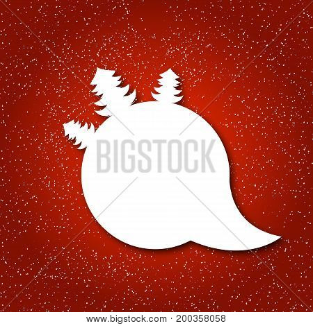 This Christmas, vector art illustration New Year.