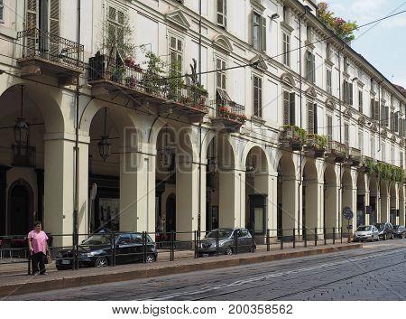 Via Po In Turin