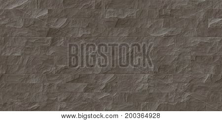 Brown Seamless Stone Cladding Texture