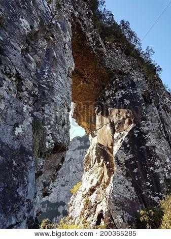 Pedra Furada - Morro da Igreja em Urubici - SC - Brasil