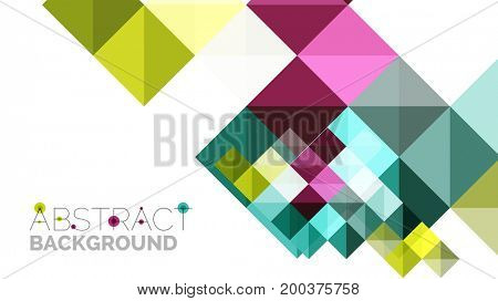 Modern geometric presentation background. Business concept or digital technology element, brochure or flyer design for web banner layouts
