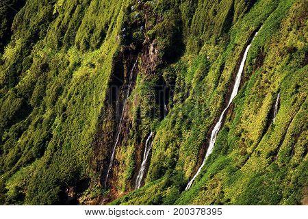 Pozo da Alagoinha, also known as Pozo Ribeira do Ferreiro, Azores, Portugal, Europe